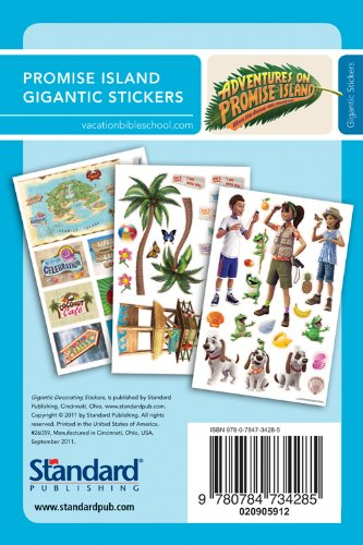 9780784734285: Gigantic Decorating Stickers (Vacation Bible School 2012: Adventures on Promise Island)
