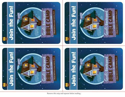 Invitation Postcards (Vacation Bible School 2013: God�s Backyard Bible Camp): Publishing, Standard