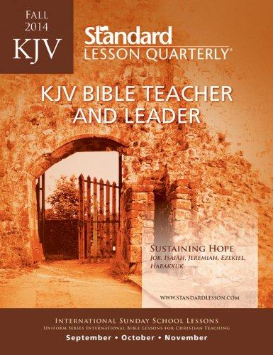 9780784743096: KJV Bible Teacher & Leader—Fall 2014 (Standard® Lesson Quarterly)