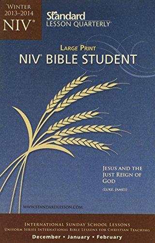 9780784744574: NIV® Bible Student Large Print—Winter 2013–2014 (Standard® Lesson Quarterly)