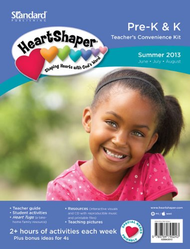 9780784745243: HeartShaper Pre-K & K Teacher's Convenience Kit [With CDROM and Student Activities, Heart Tugs, Teaching Pictures and Teacher's Guide] (Standard Lesson Quarterly)