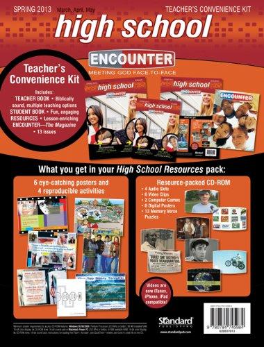 9780784745984: High School Teacher's Convenience Kit-Spring 2013 (Encounter Curriculum)