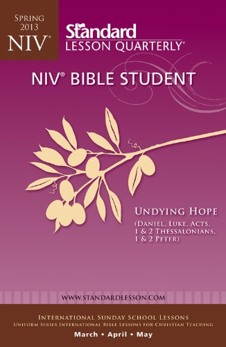 9780784746066: NIV® Bible Student-Spring 2013 (Standard® Lesson Quarterly)