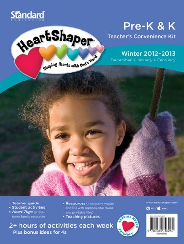 9780784746240: Pre-K & K Teacher's Convenience Kit-Winter 2012-2013 (HeartShaper® Children's Curriculum)