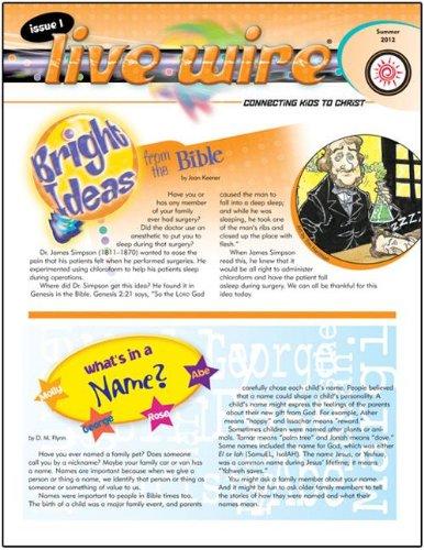 9780784747438: Live Wire®-Summer 2012 (HeartShaper® Children's Curriculum)