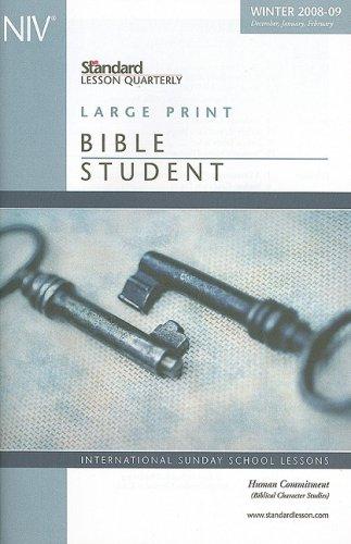 9780784754252: Human Commitment: Biblical Character Studies (Standard Lesson Quarterly NIV)