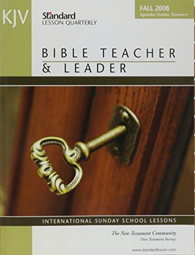 9780784754726: KJV Bible Teacher & Leader (Standard Lesson Quarterly KJV)