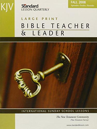 9780784754771: KJV Bible Teacher & Leader (Standard Lesson Quarterly KJV)