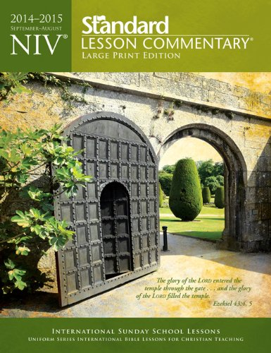9780784774694: NIV® Standard Lesson Commentary® Large Print Edition 2014-15