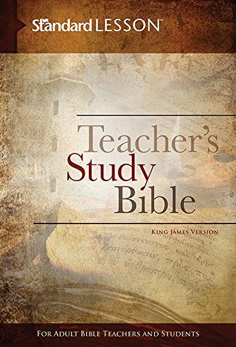 9780784774786: Standard Lesson Teacher's Study Bible—King James Version (Hardcover Edition)
