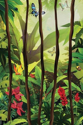 9780784775165: Jungle Vines Wall Mural: 4 Sheets