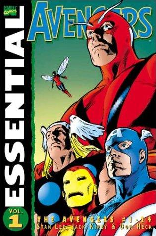 9780785107019: Essential Avengers Volume 1 TPB: v. 1 (Essential (Marvel Comics))