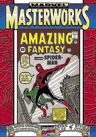 9780785107033: Marvel Masterworks: Amazing Spider-Man Vol 1 (ComicCraft cover) (1998)