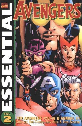 Essential Avengers, Vol. 2 (Marvel Essentials)