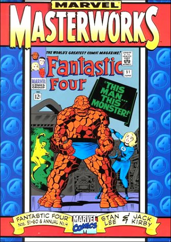 9780785107521: Marvel Masterworks: The Fantastic Four, Nos. 51-60 & Annual No. 4