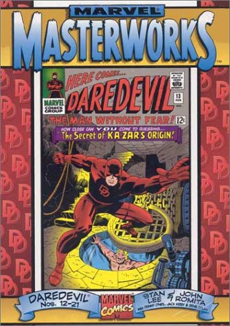 9780785108047: Marvel Masterworks Daredevil, Vol. 2, Issue Nos. 12 - 21 ComicCraft Cover
