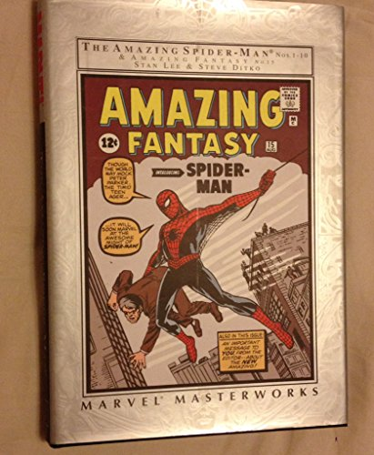 9780785108641: The Amazing Spider-Man Nos. 1-10 & Amazing Fantasy No. 15 (Marvel Masterworks)