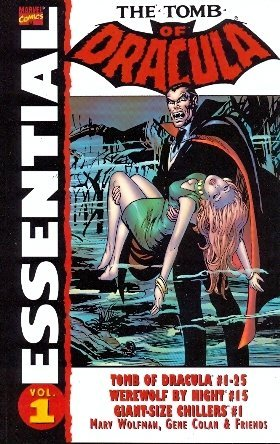 Essential Tomb of Dracula, Vol. 1 (Marvel Essentials) (v. 1): Marv Wolfman