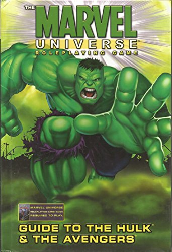 9780785111580: Marvel Universe RPG Guide To Hulk & Avengers HC (Marvel Role Playing Game)
