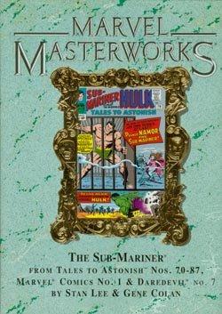 9780785112891: Marvel Masterworks Vol. 32: Sub-Mariner (Reprints Tales to Astonish #70-87)