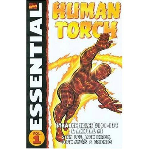 Essential Human Torch Volume 1 TPB: v. 1 (Essentials)
