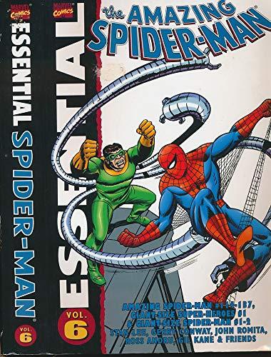 Essential Amazing Spider-Man, Vol. 6 (Marvel Essentials) (0785113657) by Gerry Conway; Ross Andru; John Romita; Gil Kane; Stan Lee; Len Wein
