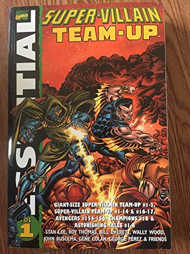 9780785115458: Essential Super-Villain Team-Up TPB (Marvel Heroes)