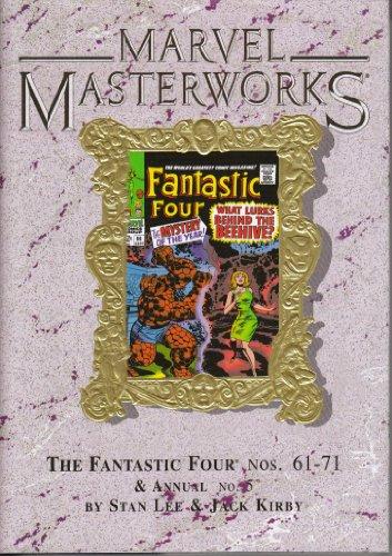 9780785115854: Marvel Masterworks Vol 34: The Fantastic Four #61-71 + Annual #5