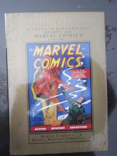 9780785116097: Marvel Masterworks: Golden Age Marvel Comics - Volume 1