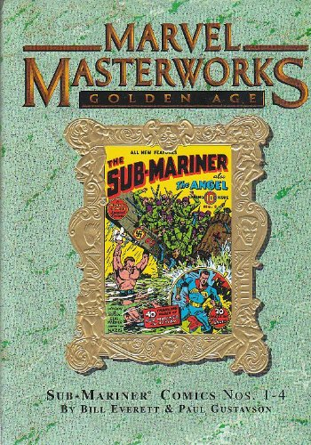 MARVEL MASTERWORKS Volume 47 [Variant Cover, Golden Age] SUB-MARINER 1-4