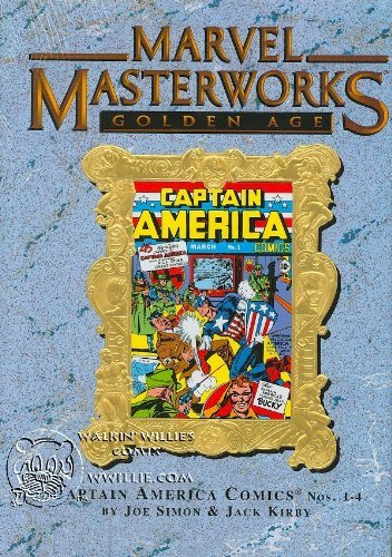 MARVEL MASTERWORKS Volume 43 CAPTAIN AMERICA 1-4: Simon, Joe; Kirby, Jack