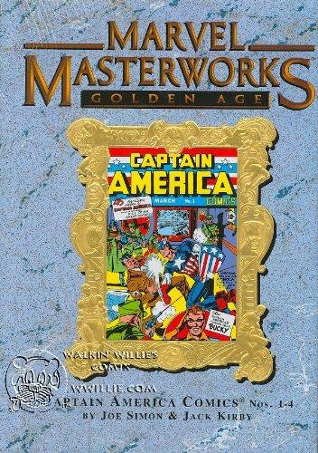 9780785116202: MARVEL MASTERWORKS Volume 43 [Variant Cover, Golden Age] CAPTAIN AMERICA 1-4