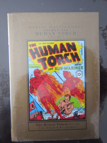 9780785116233: Marvel Masterworks Golden Age Human Torch 1