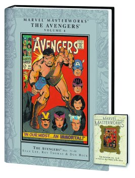 9780785116387: Marvel Masterworks: The Avengers Volume 4