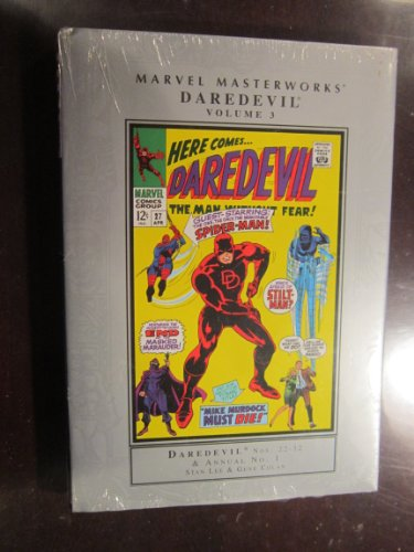 9780785116967: Marvel Masterworks Daredevil 3: The Man Without Fear!: Nos, 22-32