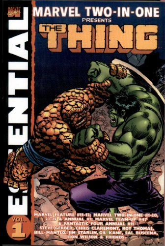 Essential Marvel Two-In-One Volume 1 TPB (Essential (Marvel Comics)) (v. 1): Bill Mantlo; Chris ...