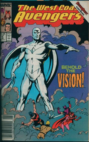 9780785117742: Avengers West Coast Visionaries - John Byrne, Vol. 1: Vision Quest (Prelude to Avengers Disassembled)