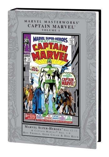 9780785118213: Marvel Masterworks Captain Marvel 1
