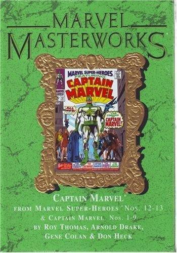 9780785118220: Marvel Masterworks Vol. 50 CAPTAIN MARVEL Ltd. Ed. Marble Variant