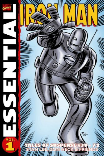 Essential Iron Man, Vol. 1 (Marvel Essentials): Lee, Stan