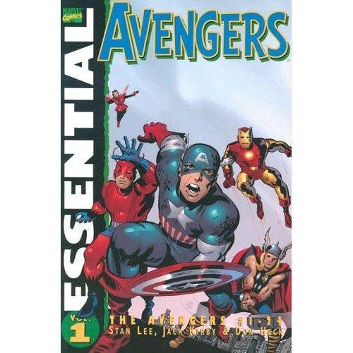 9780785118626: Essential Avengers, Vol. 1 (Marvel Essentials)