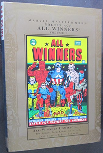 Marvel Masterworks Golden Age All-Winners Vol. 1