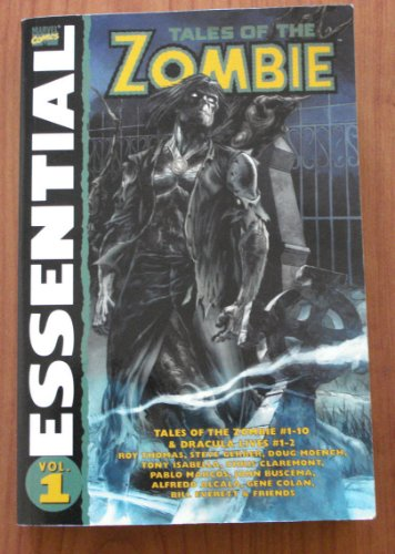 Essential Tales of the Zombie (Essential (Marvel: Roy Thomas and