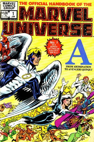 9780785119333: Essential Official Handbook Of The Marvel Universe Volume 1 TPB