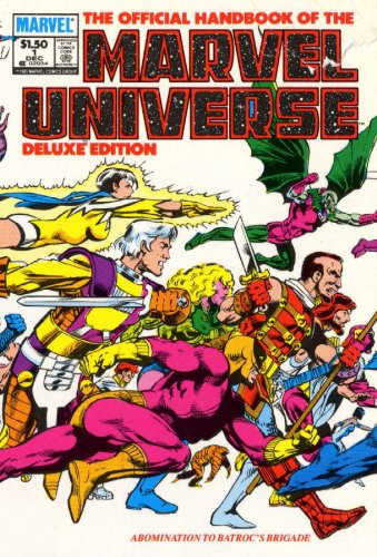Essential Official Handbook Of the Marvel Universe - Deluxe Edition