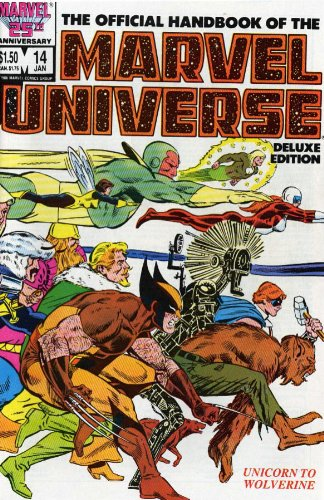 9780785119364: Essential Official Handbook of the Marvel Universe, Vol. 3, Deluxe Edition