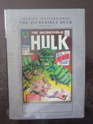 Marvel Masterworks: Incredible Hulk - Volume 3: Marvel Comics