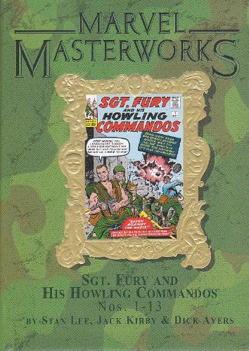 9780785120407: Marvel Masterworks: Sgt. Fury and his Howling Commandos, Vol. 58, Nos. 1-13 by Stan Lee (2006-05-03)