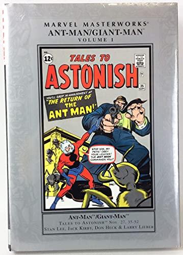 9780785120490: Marvel Masterworks: Ant-Man Giant-Man - Volume 1