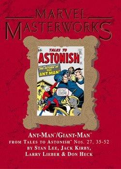 MARVEL MASTERWORKS Volume 59 [Variant Cover] ANT MAN / GIANT MAN: Lee, Stan